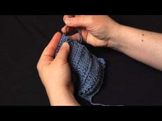 How to weave in the ends on a crochet project.  {Check out www.mooglyblog.com for more videos and lots of free patterns.}