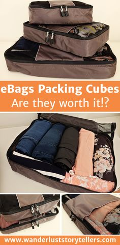 Are packing cubes worth it?  What are the eBags packing cubes really like?  Read our informative review. >>>>>>>>>>>>>>>>>>>>>>>>>>>>  best packing cubes | Packing cube review | luggage cubes | suitcase bags | organizer bags