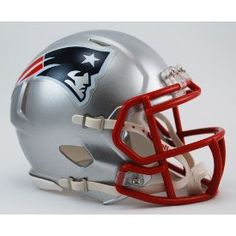 New England Patriots NFL Mini Speed Football Helmet
