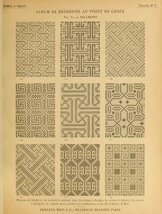 Cross Stitch Borders, Cross Stitch Charts, Cross Stitch Patterns, Knitting Patterns, Fair Isle Chart, Needlepoint Stitches, Dmc, Fair Isle Knitting, All Craft