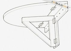 Folding Wall Mounted Table Plans PDF Woodworking Use this idea to add a chalkboard/desk in Ty's room. Maybe also put one in the living room for an extra desk? Wall Mounted Folding Table, Folding Desk, Folding Walls, Wall Mounted Tv, Folding Table Diy, Wall Mounted Kitchen Table, Folding Shelf Bracket, Fold Down Table, Woodworking For Kids