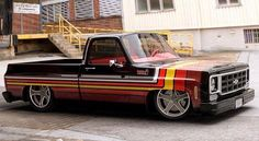 Vintage Trucks Hot Wheels - Hands up who is going to build this amazing creation, so sick! Bagged Trucks, Lowered Trucks, C10 Trucks, Chevy Pickup Trucks, Chevrolet Trucks, Dropped Trucks, Custom Chevy Trucks, Classic Chevy Trucks, Chevy C10