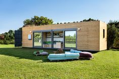 Athens, Greece based container architecture startup Cocoon Modules has partnered up with natural mattress brand COCO-MAT to renovate old shipping containers and turn them into ideal modern dwellings for nomads, emergency housing, or people looking for a weekend home.