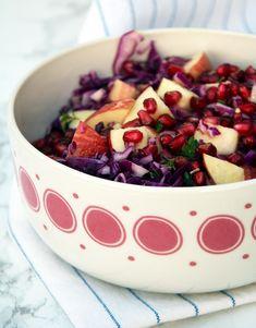 rødkålsssalat m. dressing