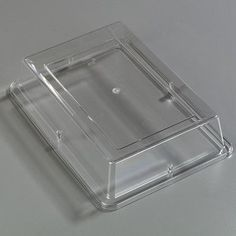 """Carlisle Food Service Products Palette Cover for Rectangle Platter (Set of 12) Size: 10"""" W x 14"""" D"""