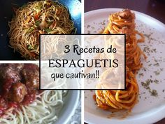 Recetas de espagueti