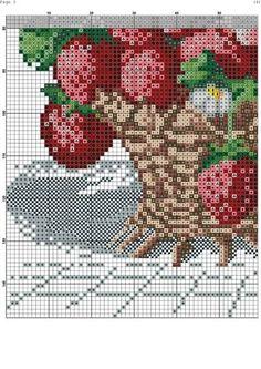 Criei este blog para dividir os gráficos que tenho, mostrar meus trabalhos, fazer amizades, compartilhar ideias e trocar experiências. Aceito sugestões e críticas para melhorar o blog cada vez mais. Se por acaso eu postar qualquer coisa que seja crédito de outra pessoa me avisem por favor. Entrem e fiquem à vontade. Beijos!!! Cross Stitch Fruit, Cross Stitch Kitchen, Cross Stitch Flowers, Cross Stitch Kits, Cross Stitch Patterns, Knitting Patterns, Hand Embroidery, Embroidery Designs, Pearl Crafts