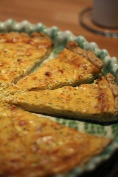 Quiche, New Recipes, Zucchini, Food And Drink, Pizza, Vegetables, Eat, Cooking, Accessories