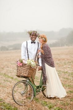 A groom in a floral crown? Why not! Beautiful Photography by Naomi Kenton Photography / naomikenton.co.uk