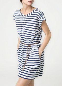 MANGO - PRENDAS - Vestidos - Vestido largo bordados