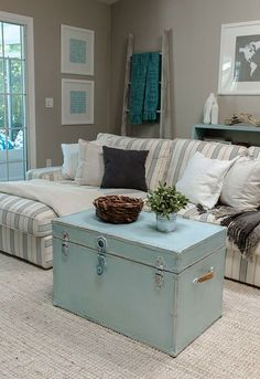 Ahhh -> Coastal Cottage Master Bedroom xoxo