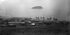 Chemulpo (Incheon). Photo by Asa M. Mattice, an officer on board the USS Juanita, naval expedition to Far East 1883-1885