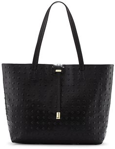 Vince Camuto Leila - Classic Leather Tote