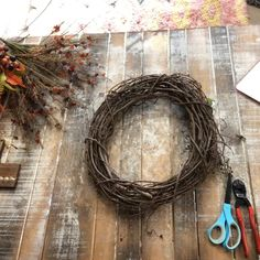 fall wreaths Autumn Wreath made by Ba Bam Wreaths. Diy Fall Wreath, Wreath Crafts, Fall Diy, Holiday Wreaths, Twine Wreath, Ribbon Wreaths, Boxwood Wreath, Floral Wreaths, Hydrangea Wreath