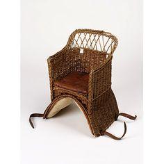 baby's 'horse/pony' saddle chair ... c.1860-1910