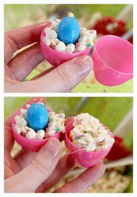 BitznGiggles: Krispy Confetti Eggs