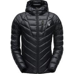 Spyder - Syrround Hybrid Hooded Jacket - Men's - Black/Black/Black