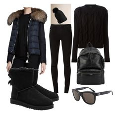 15. by domonkos-nagy-parragh on Polyvore featuring polyvore, fashion, style, Lanvin, Moncler, Diesel, UGG Australia, Yves Saint Laurent and Burberry
