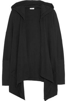 Splendid | Hooded waffle-knit cotton-blend cardigan | NET-A-PORTER.COM