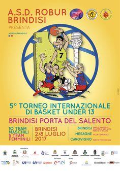 5° Torneo Internazionale di Basket U13 - campaign for Asd Robur Brindisi