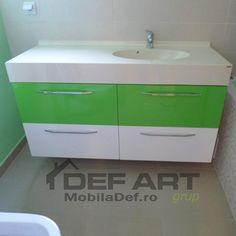 Mobila baie mdf lucios Dresser, Furniture, Home Decor, Homemade Home Decor, Lowboy, Dressing Tables, Home Furnishings, Decoration Home, Dressers