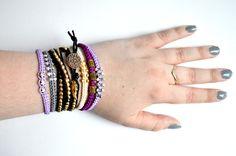 Bracelet stacking by JewellerybyRej on etsy: https://www.etsy.com/uk/shop/JewellerybyRej?ref=hdr_shop_menu
