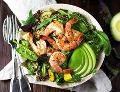 Quinoa+Shrimps+Bowl+with+Mango
