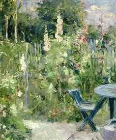 Berthe Morisot, 1884, Roses Tremieres