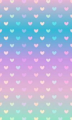 Iphone Wallpaper - Gradient pastel heart wallpaper: - Iphone and Android Walpaper Phone Wallpaper Images, Cute Wallpaper For Phone, Heart Wallpaper, Kawaii Wallpaper, Love Wallpaper, Cellphone Wallpaper, Pattern Wallpaper, Iphone Wallpaper, Trendy Wallpaper