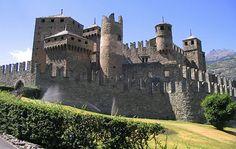 Fénis Castle, Italy http://en.wikipedia.org/wiki/F%C3%A9nis_Castle