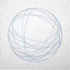 # 491 Órbitas - Una nueva composición geométrica mínima cada día