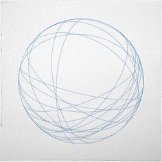 #491 Orbits – A new minimal geometric composition each day