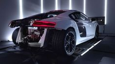 Audi R8 V10 Plus Evolution on the Outside, Revolution on the Inside. Directed by Mark Jenkinson
