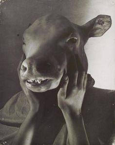 Erwin Blumenfeld, The dictator, Paris, 1937