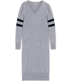 T by Alexander Wang Longsleeve Wool Dress