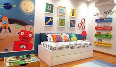 Check Out 20 Cool Boys Bedroom Ideas For Toddlers. Your little boy is now acting independently and would love to do things on his own.