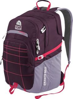 Granite Gear Buffalo Laptop Backpack Gooseberry/lilac/watermelon - via eBags.com!