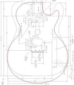 Printable guitar template PDF? - Page 3 - Telecaster Guitar Forum