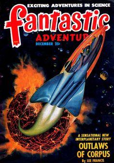 scificovers:  Fantastic Adventures vol 10 no 12 December...