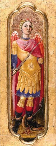 Page of Archangel Michael by PIREZ D'ÉVORA, Alvaro in the Web Gallery of Art, a searchable image collection and database of European painting, sculpture and architecture Kunst Online, Angel Warrior, Web Gallery, Virtual Museum, European Paintings, Archangel Michael, Madonna And Child, Sea Art, Angels And Demons