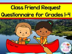"Have your students fill out this helpful end-of-the-year FREEBIE when it is class building time again.  It provides teachers with valuable information about friendships to maintain and gives students the opportunity to share any requests or concerns that may be on their minds too. Since there is often the possibility of split (a.k.a. ""combined"") classes, students have the opportunity to write down a friend's name in the grade below and above their own."