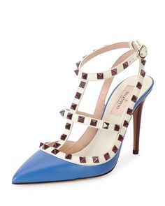 The classic Valentino Rockstud in a new color.