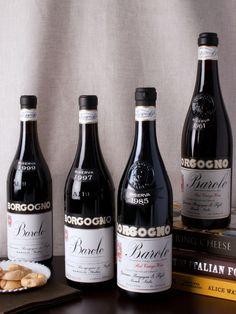 Rare Barolo Riserva Vertical from Giacomo Borgogno e Figli - (1961, 1985, 1997, 1999) - Direct from the winery cellar and exclusive collection for Gilt