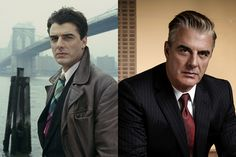 Chris Noth como Mike Logan e atualmente em The Good Wife. (Foto: Universal Channel)