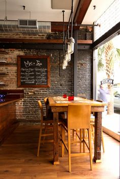 rustic restaurant designs | ... focuses on intense flavor | Restaurant Reviews | Charleston City Paper