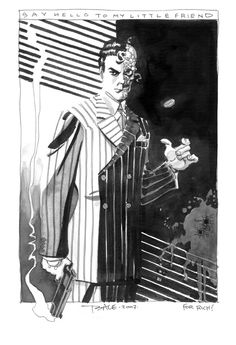 Two-Face, by Tim Sale.