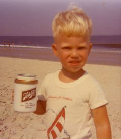 Timmy may not always drink beer, but when he does... Schlitz!