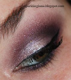 Sparkling Luna: EOTD : Darling girl Prometheus - Too Faced The Return of Sexy : Purples