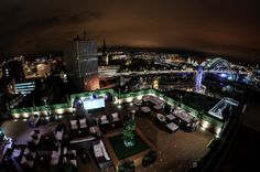 200ft above Newcastle, amongst the Stars!