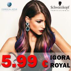 Terminamos la semana con una oferta muy especial para ti o para tu Salón de Peluquería. Consigue la coloración Igora Royal de Schwarzkopf Professional a un super-precio¡¡¡ http://bit.ly/1OfSSXX Hasta el 30 de Septiembre.